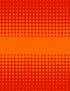 Red Orange Dots Pattern Background Royalty Free Stock Photo