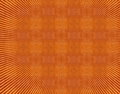 Red orange grunge vintage pattern wallpaper background Royalty Free Stock Photo