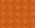 Red orange grunge vintage pattern wallpaper background with water droplets Stock Photos