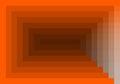 Red orange quadratic pattern in color geometric Royalty Free Stock Photo