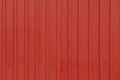 Red orrugated steel sheet abstract aluminium aluminum backdrop background blue box brass close closeup Royalty Free Stock Photos
