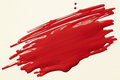 Red paint scribble on white textured paper Royalty Free Stock Photo