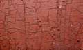 Red Painted old wall. Abstract cracked brown texture. Rustic background Royalty Free Stock Photo