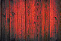 Red painted wooden peeling off planks texture background grunge Royalty Free Stock Photography