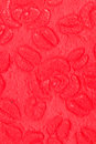 Red paper background rose flower pattern Stock Image