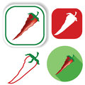 red pepper icons