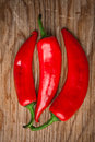 Red Peppers Stock Image