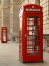 Red Phone Box Stock Images