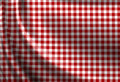Red picnic cloth texture Royalty Free Stock Photography