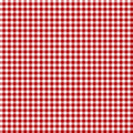 Red picnic fabric Royalty Free Stock Photos