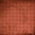 Red picnic fabric Stock Photography
