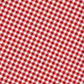 Red picnic fabric Royalty Free Stock Photo