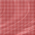 Red picnic fabric Stock Photos