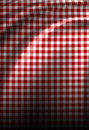 Red picnic texture Royalty Free Stock Photos