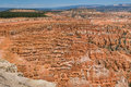 Red pinnacles (hoodoos) of Bryce Canyon, Utah, USA Royalty Free Stock Images