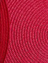 Red placemats place mats make abstract pattern Royalty Free Stock Photography