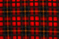 Red plaid background #2 Royalty Free Stock Photography