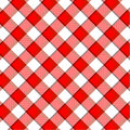 Red plaid pattern Royalty Free Stock Images