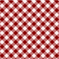 Red plaid pattern Stock Images