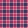 Red plaid pattern a dark seamless repeating Stock Photo