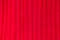 Red pleat fabric background texture Stock Images