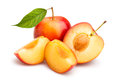 Red plum Royalty Free Stock Photo