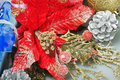 Red Poinsettia Christmas Royalty Free Stock Photography