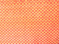 Red polyester fabric texture Royalty Free Stock Photo