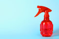 Red pulverizer Royalty Free Stock Photo