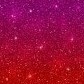 Red purple glitter background. Vector