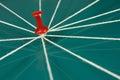Red push pins Royalty Free Stock Photo