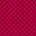 Red quilted background vector illustrated Royalty Free Stock Images