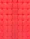 Red quilted leather Stock Image