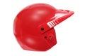 Red Racing Helmet Royalty Free Stock Photo