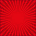 Red rays of carnival background. Vector illustration