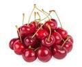 Red ripe cherries Royalty Free Stock Photo