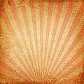 Red Rising Sun Or Sun Ray