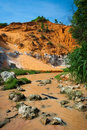 Red river canyon, Mui Ne, Vietnam Stock Photos
