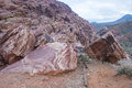 Red rock canyon near las vegas nevada Stock Image