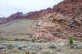 Red rock canyon nevada the near las vegas Stock Photography
