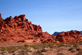 Red rock formation Stock Image