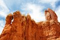 Red Rock Formations sky A Royalty Free Stock Image