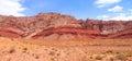 Red rock hills near page arizona Stock Image