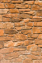 Red rock wall Royalty Free Stock Images