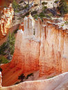 Red Rocks in Bryce Canyon National Park Royalty Free Stock Photo