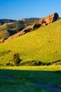 Red Rocks Park Landscape Royalty Free Stock Photo