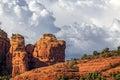 Red Rocks at Sedona Royalty Free Stock Photo