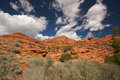 Red Rocks of Utah Stock Image
