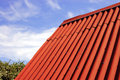 Red roof Royalty Free Stock Photography
