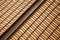 Red roof tiles Stock Photos